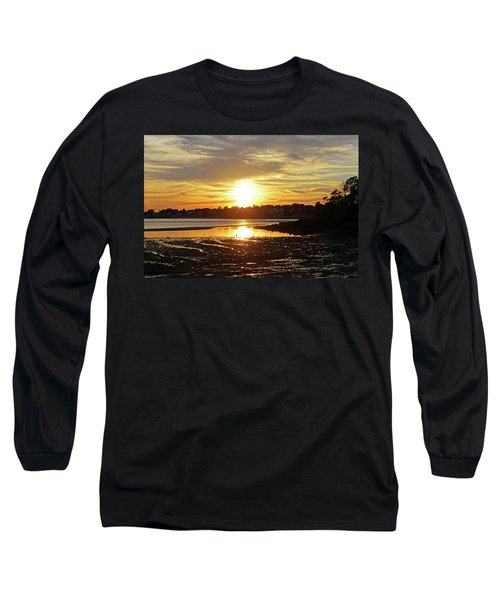 Sunset Over Lynch Park Beverly Ma Long Sleeve T-Shirt