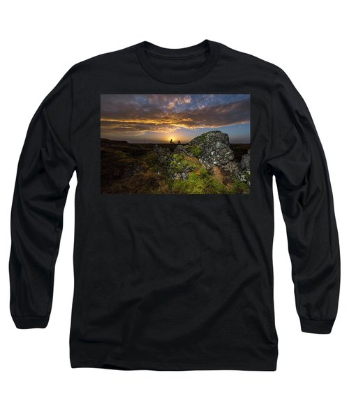 Sunset Over Marsh Long Sleeve T-Shirt
