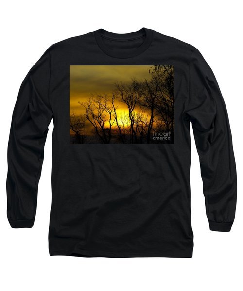 Sunset Over Our Free Land Long Sleeve T-Shirt