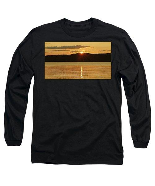 Sunset Over Piermont Long Sleeve T-Shirt