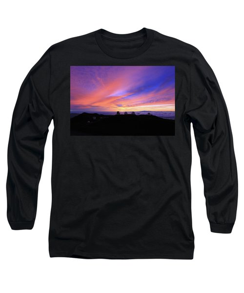 Sunset Over The Clouds Long Sleeve T-Shirt