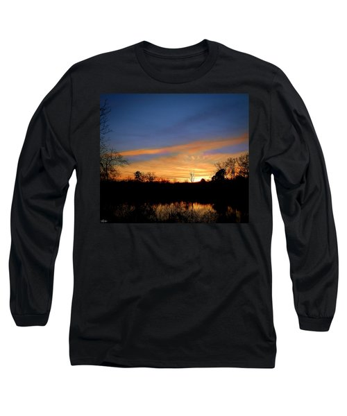 Sunset Over The Sabine 02 Long Sleeve T-Shirt