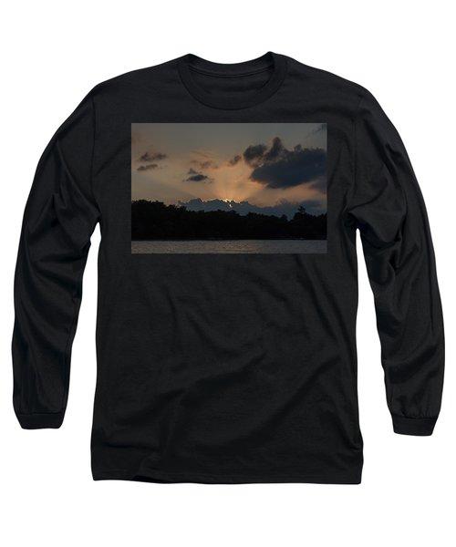 Sunset Over Wilderness Point Long Sleeve T-Shirt