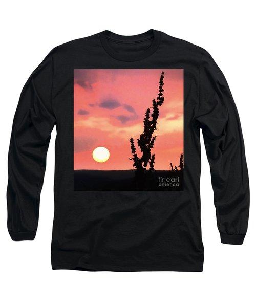 Sunset Long Sleeve T-Shirt by Raymond Earley