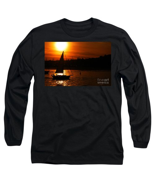 Sunset Sailing Long Sleeve T-Shirt