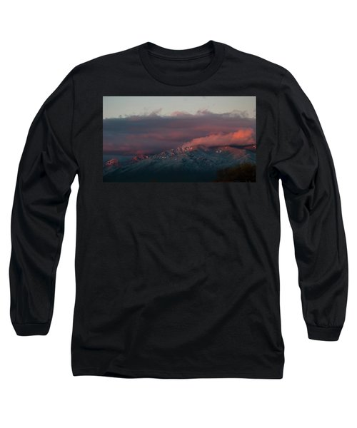 Sunset Storm On The Sangre De Cristos Long Sleeve T-Shirt