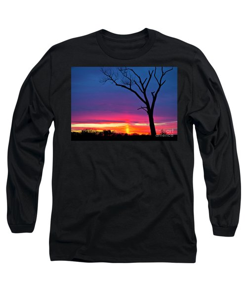 Sunset Sundog  Long Sleeve T-Shirt