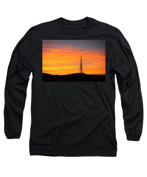 Sunset Tower Long Sleeve T-Shirt