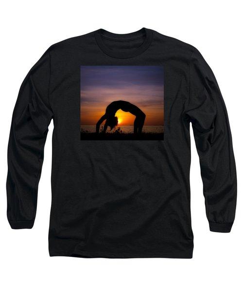 Sunset Yoga Long Sleeve T-Shirt