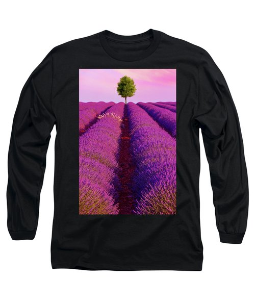 Sunsets Are Purple Long Sleeve T-Shirt