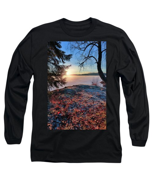 Sunsets Creates Magic Long Sleeve T-Shirt by Rose-Marie Karlsen