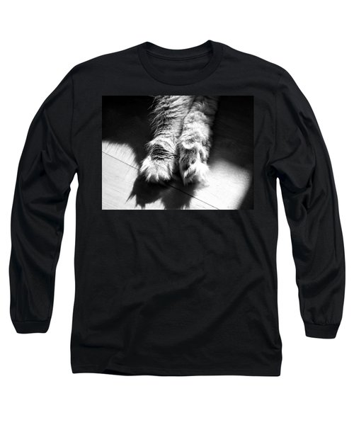 Sunshine And Shadows Long Sleeve T-Shirt by Karen Stahlros