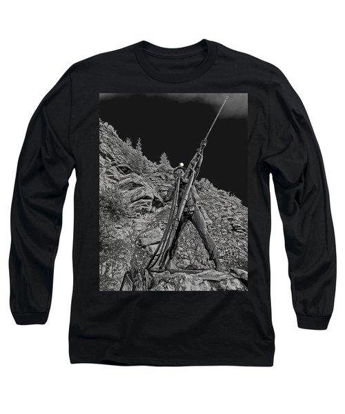 Sunshine Mine Fire Monument - Idaho State Long Sleeve T-Shirt