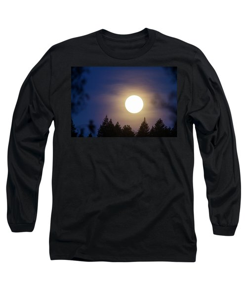 Super Full Moon Long Sleeve T-Shirt