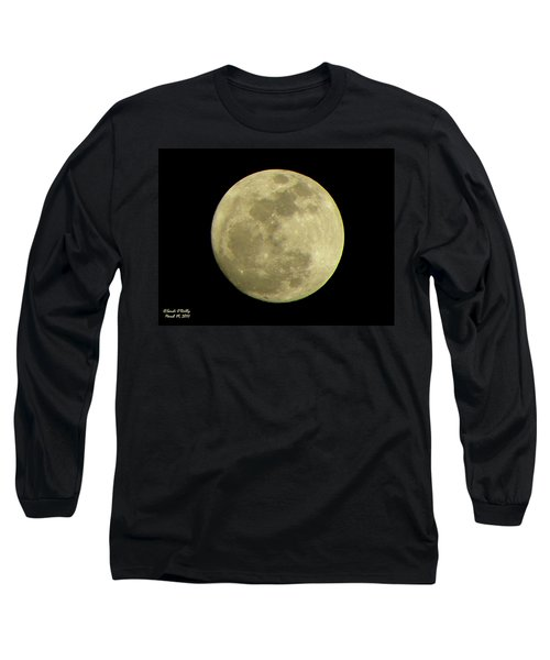 Super Moon March 19 2011 Long Sleeve T-Shirt