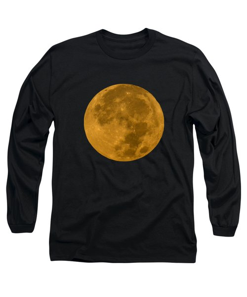 Super Moon Monday Long Sleeve T-Shirt