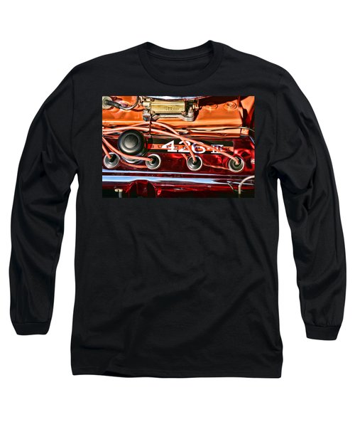 Super Stock Ss 426 IIi Hemi Motor Long Sleeve T-Shirt by Gordon Dean II