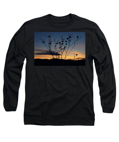 Superbloom Sunset In Death Valley 103 Long Sleeve T-Shirt by Daniel Woodrum