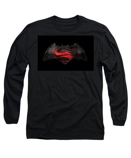 Superman Vs Batman Long Sleeve T-Shirt