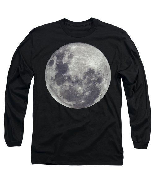 Supermoon Long Sleeve T-Shirt