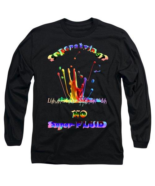 Superstring Superfluid Long Sleeve T-Shirt