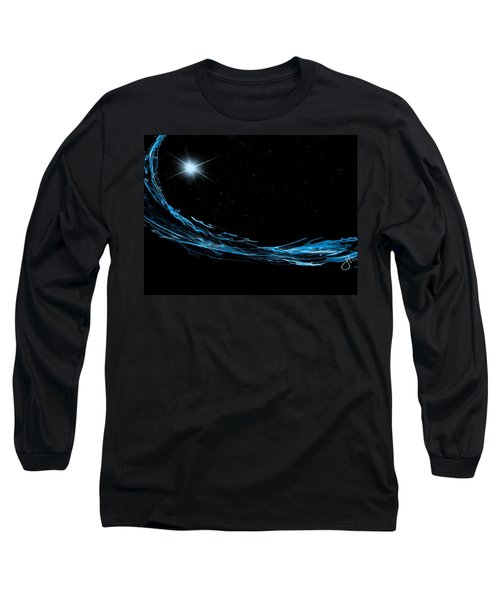 Surfing The Stars Long Sleeve T-Shirt