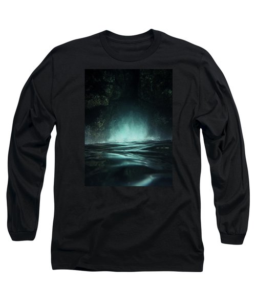 Long Sleeve T-Shirt featuring the photograph Surreal Sea by Nicklas Gustafsson