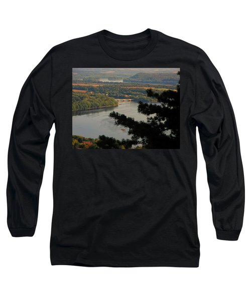 Susquehanna River Below Long Sleeve T-Shirt