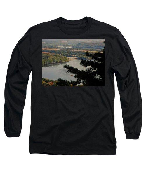 Susquehanna River Below Long Sleeve T-Shirt