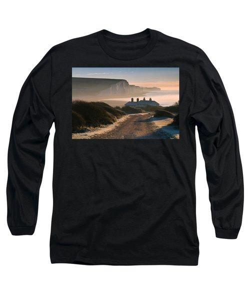 Sussex Coast Guard Cottages Long Sleeve T-Shirt