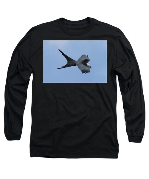 Swallow-tailed Kite #1 Long Sleeve T-Shirt by Paul Rebmann