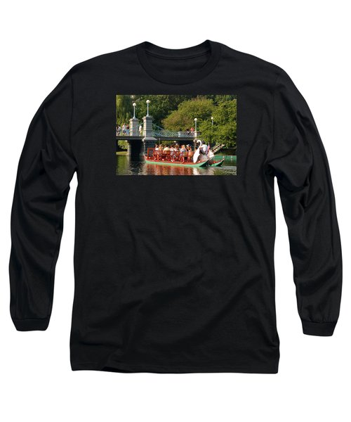 Swan Boats Long Sleeve T-Shirt