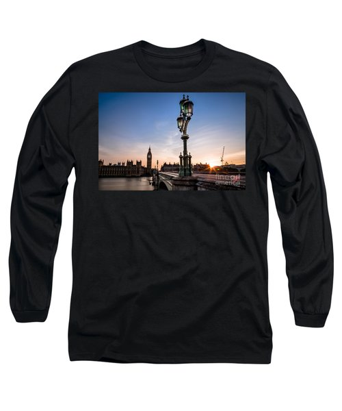 Swapping Lights Long Sleeve T-Shirt by Giuseppe Torre