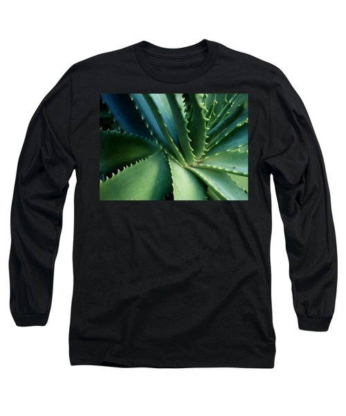 Swirl Long Sleeve T-Shirt by Ellen Cotton