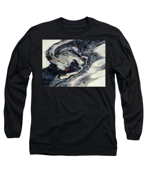 Swirling Current Long Sleeve T-Shirt