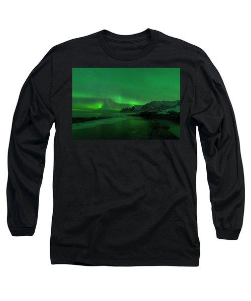 Swirling Skies And Seas Long Sleeve T-Shirt