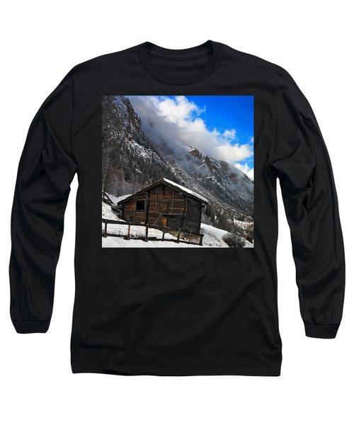 Swiss Barn Long Sleeve T-Shirt