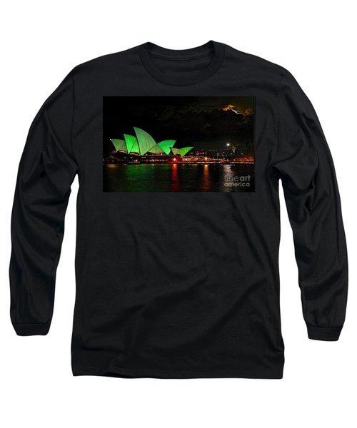 Sydney Opera House Vivid Festival Australia Long Sleeve T-Shirt