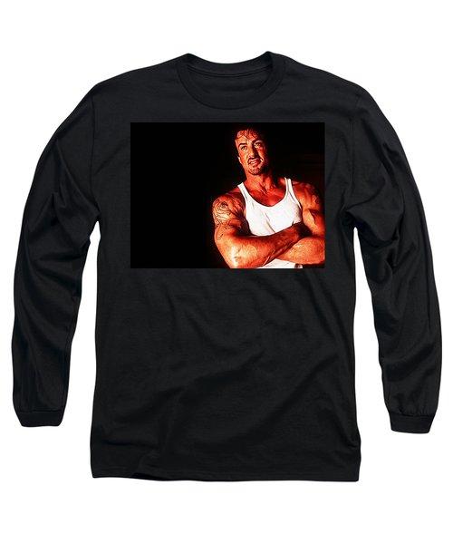Sylvester Stallone Long Sleeve T-Shirt