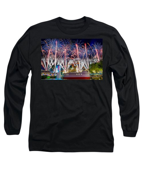 Symphony In The Stars As Seen Around Echo Lake Long Sleeve T-Shirt