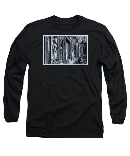 Long Sleeve T-Shirt featuring the photograph Ta Phrom Cambodia by Kathy Adams Clark