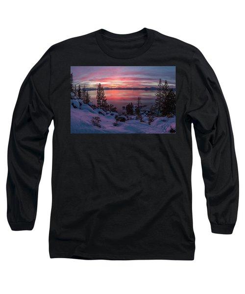Tahhhhhoe Sunset Long Sleeve T-Shirt