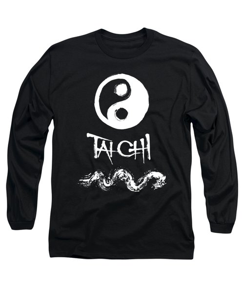 Tai Chi Black Long Sleeve T-Shirt