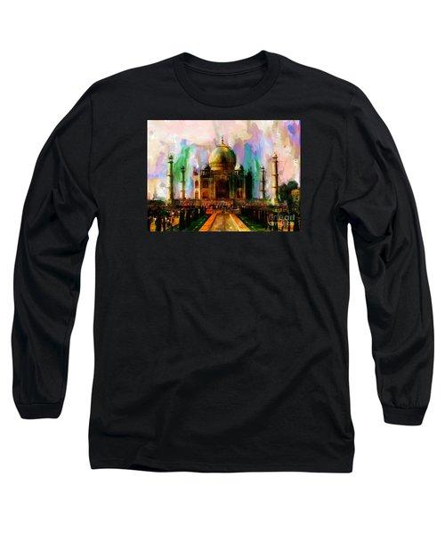 Taj Mehal 009 Long Sleeve T-Shirt