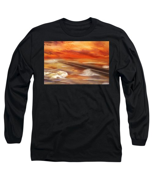 Take The Weather With You Long Sleeve T-Shirt by Iryna Goodall