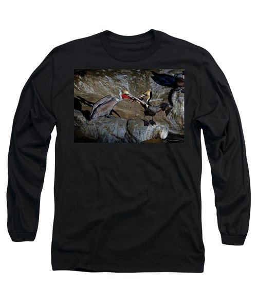 Taking A Bite Long Sleeve T-Shirt