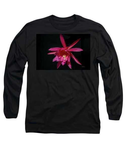 Taking Of Epiphyllum Long Sleeve T-Shirt