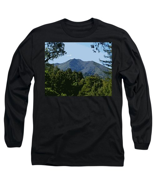 Tamalpais...the Sleeping Princess Long Sleeve T-Shirt