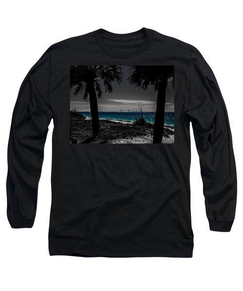 Tampa Bay Blue Long Sleeve T-Shirt