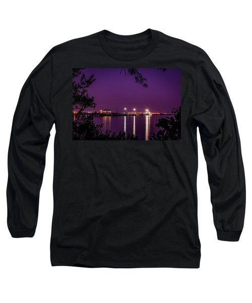 Tampa Bay Fishing Pier Long Sleeve T-Shirt